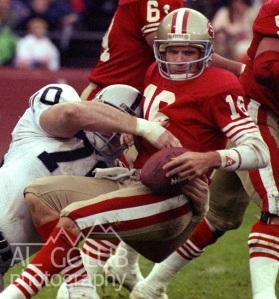 NFL 1988- Los Angles Raiders vs San Francisco 49ers 9-3